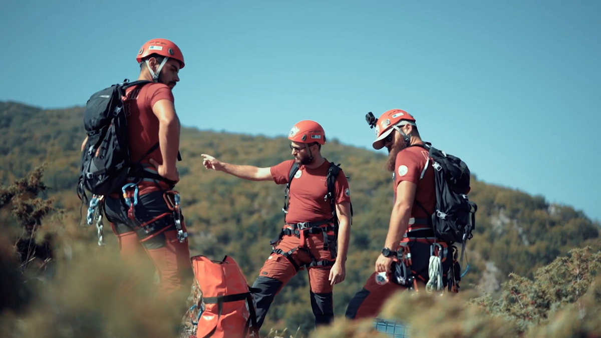 Promotional video for the Mountain Rescue Service – Red Cross Ohrid