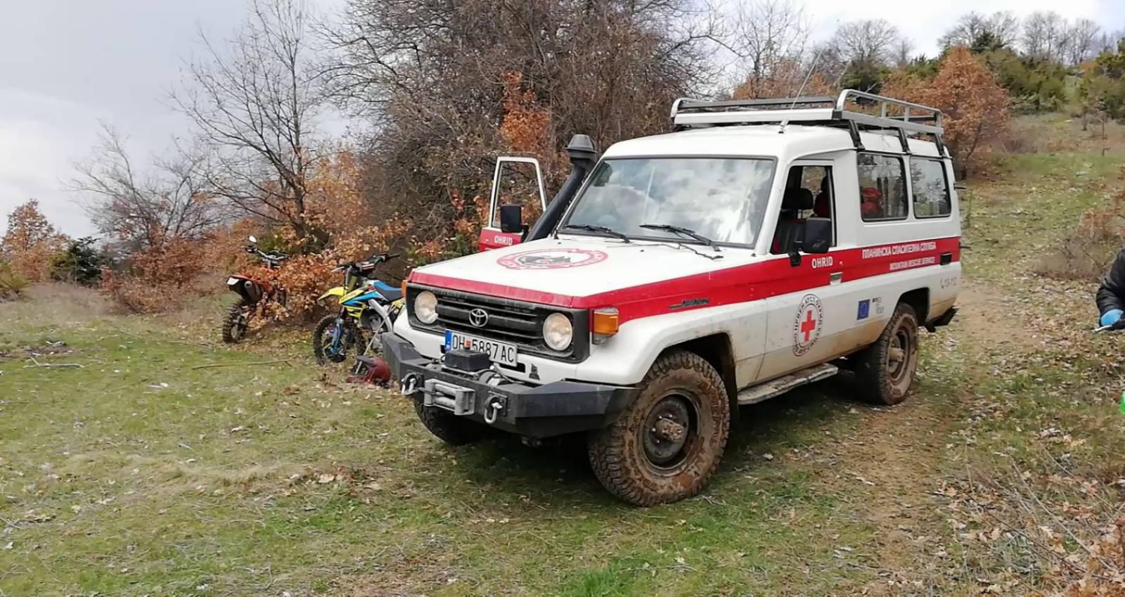 (MK) Интервенција на Планинската Спасителна Служба