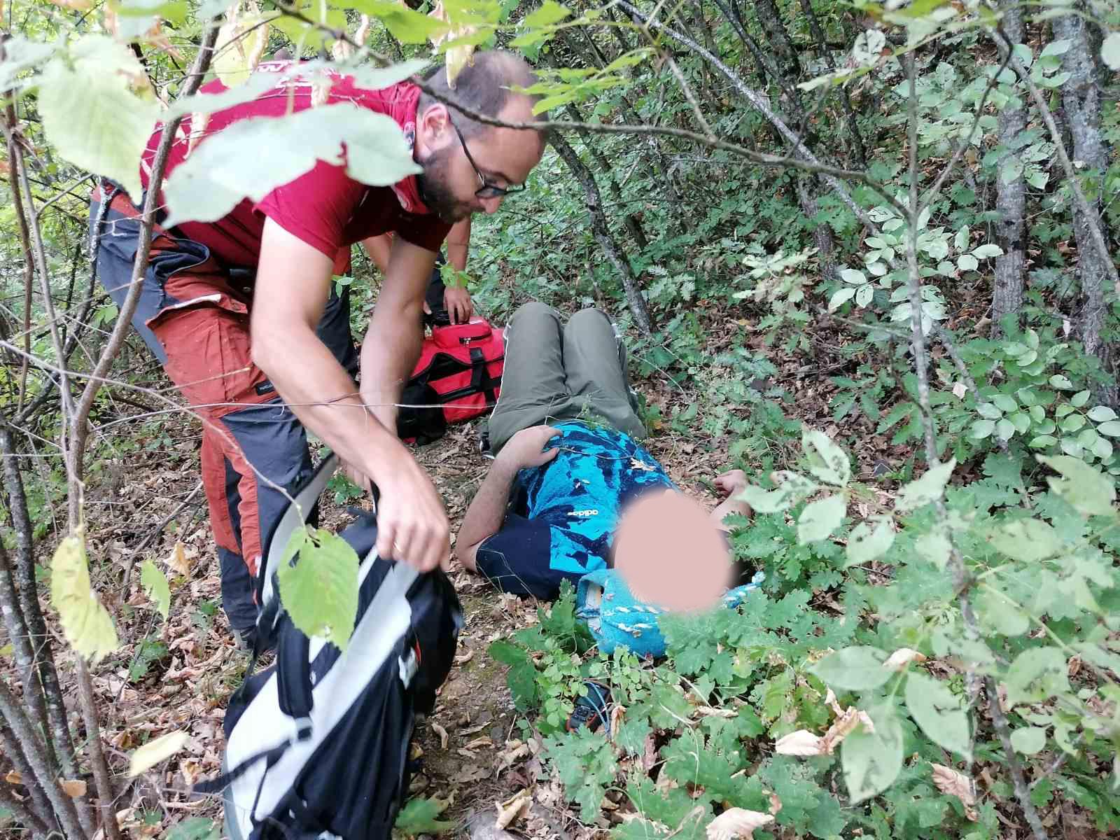 """Планинската спасителна служба интервенираше по дојава за изгубено лице над кампот """"Ливадиште"""""""