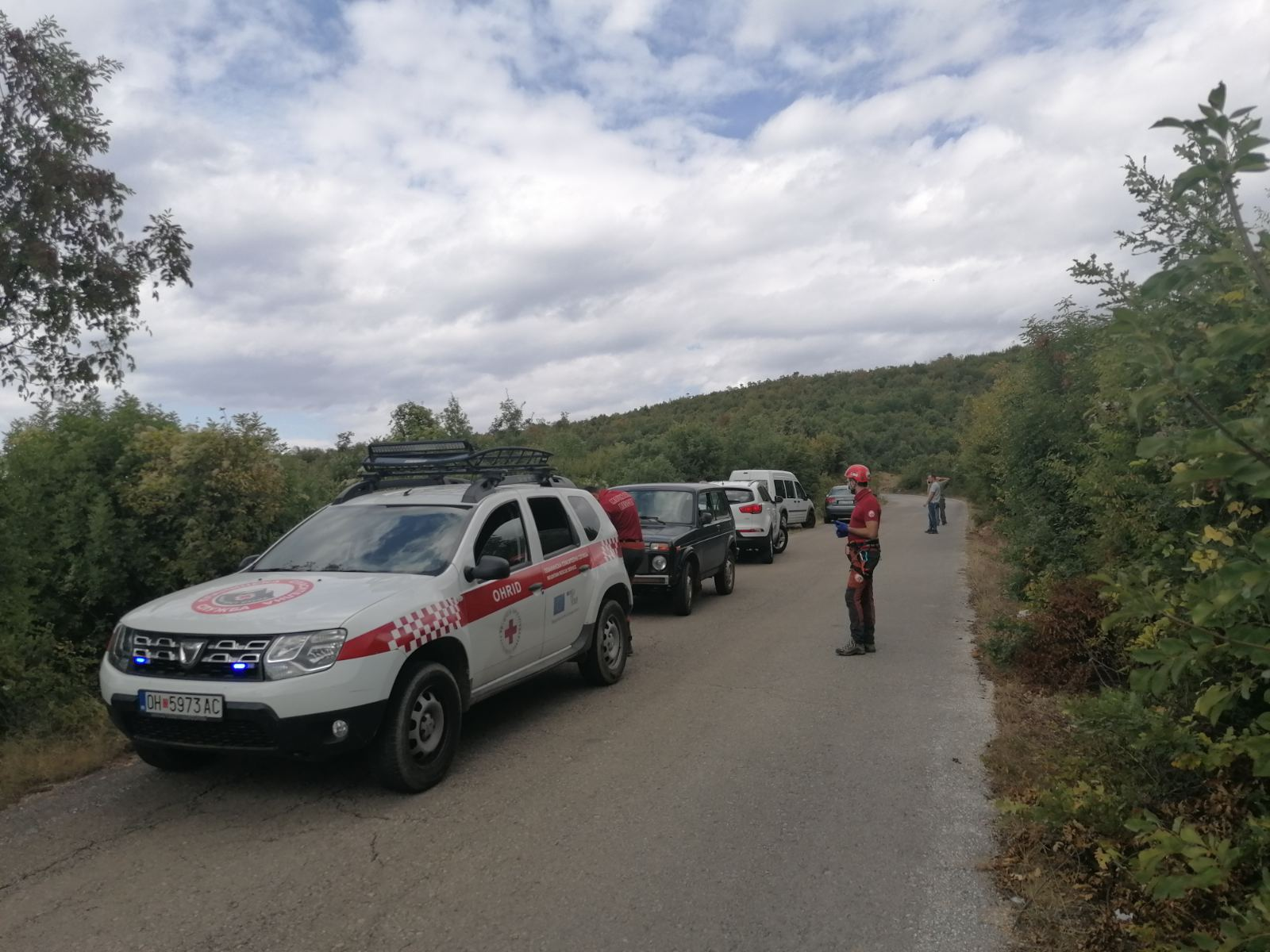 A tragic accident on Galichica mountain