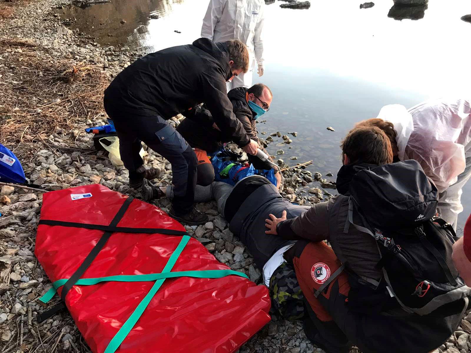 """Планинската спасителна служба спаси повредено момче кај """"Лабино"""""""