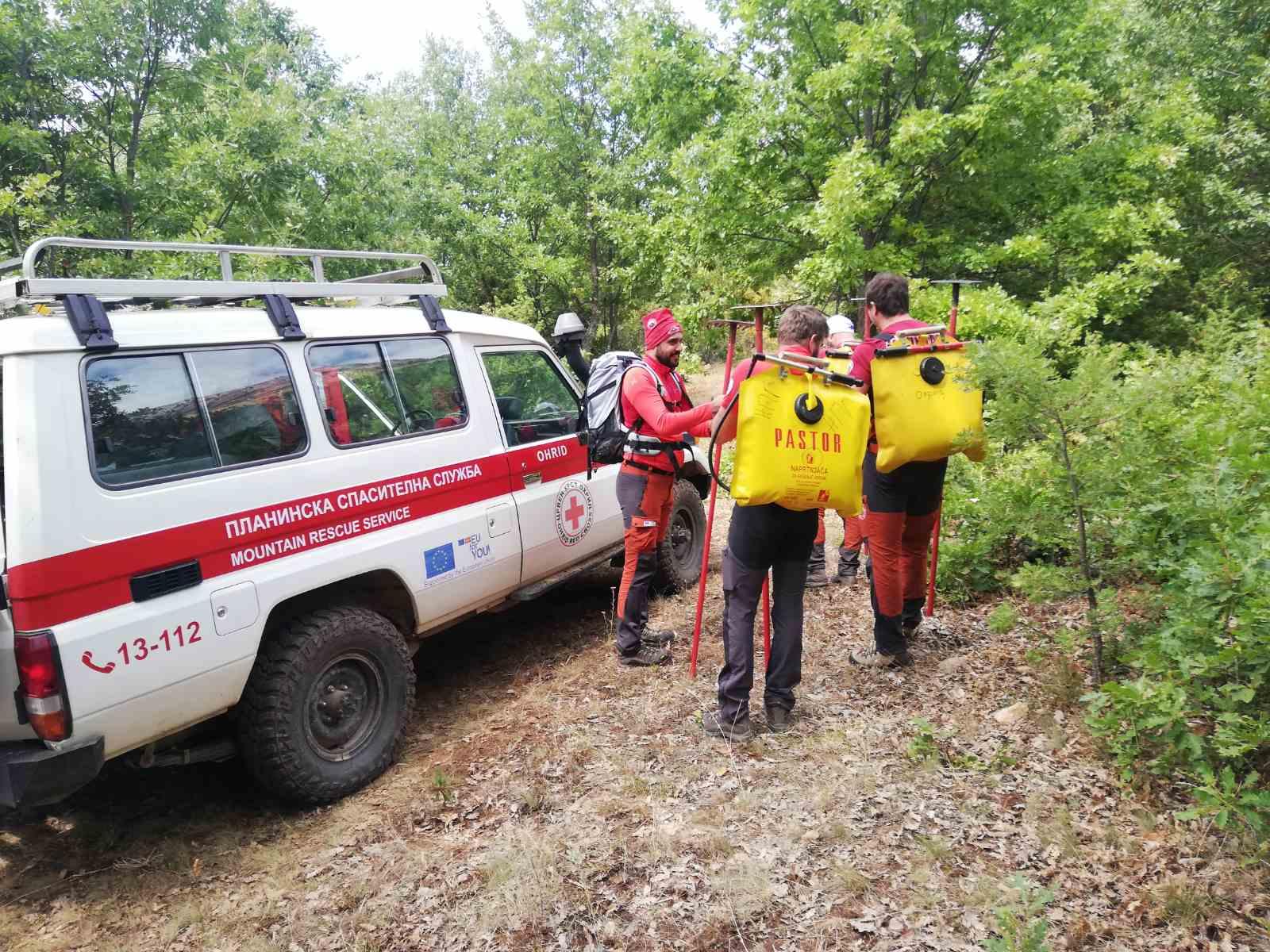 Извештај за спроведените активности на ПСС поврзани со пожарот на Галичица